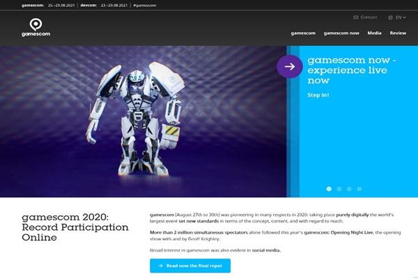 네오위즈, 온라인으로 옮겨온 세계 3대 게임축제 '게임스컴 2020'에서 신작 게임 8종 선보여에 관한 사진